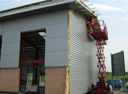 Cinnamon Brow Business Park Phase 2 - Cladding